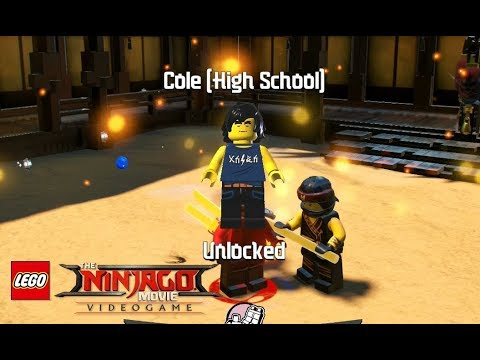 How To Unlock Cole High School In Lego Ninjago Movie Video Game