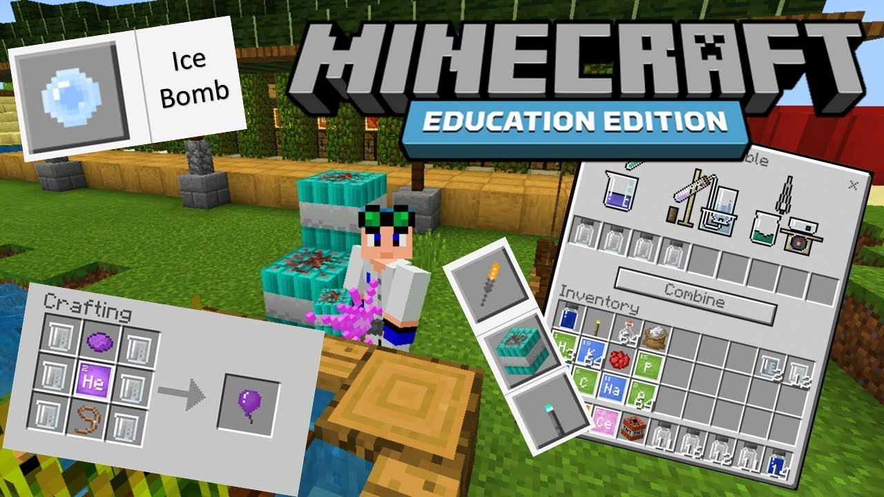 The useful items in Minecraft Education Edition #12