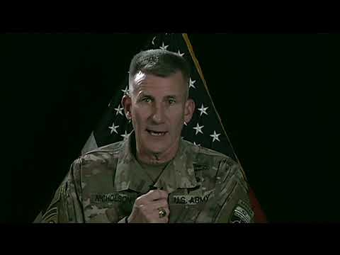 U.S. Army  - Resolute Support Commander Updates Reporters on Afghanistan Operations