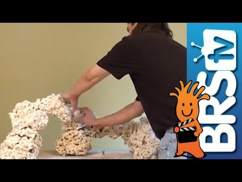 How to aquascape a saltwater reef aquarium - Episode 2 ...