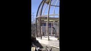 Купольный дом по дуговой технологии 2014 год Волгоград(Строительство купольного дома по дуговой технологии. Подробнее http://pihouse.ru Москва, Санкт-Петербург, Белгоро..., 2014-04-22T12:08:29.000Z)