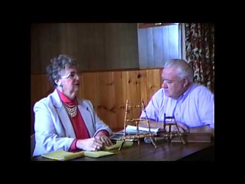 WGOH - Rouses Point History with Peg Barcomb part one  1-20-92