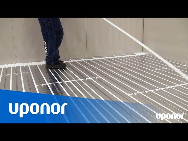 Instruktionsfilm: Golvvärme på befintligt golv med minimal bygghöjd