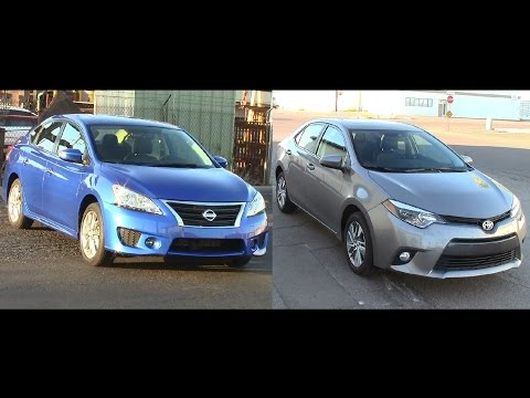 2015 Nissan Sentra and 2015 Toyota Corolla review