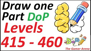 DoP Draw One Part Level 415 - 460 Walkthrough Solutions