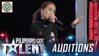 Pilipinas Got Talent Season 5 Auditions: Dona Gomez - Nanay Rakista
