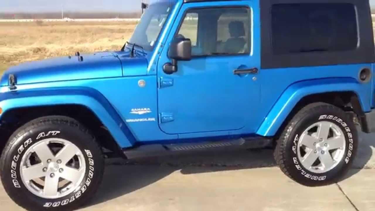 jeep wrangler sahara automatic 2010 blue navigation 2 tone. Black Bedroom Furniture Sets. Home Design Ideas