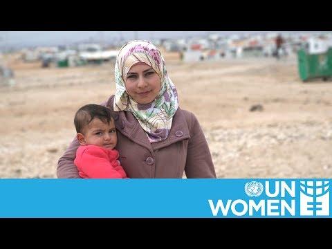 Born in Za-atari refugee camp  - 17:22-2017 / 6 / 15