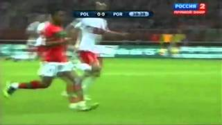 Cristiano Ronaldo (Portugal) performance vs Poland Football Match (29-02-2012) (360p)