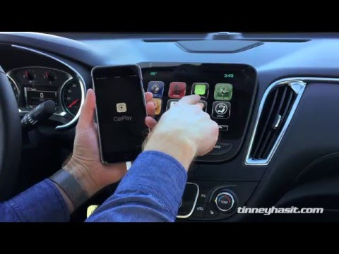 How To Set Up Apple CarPlay in a 2016 Chevy Malibu with Mylink
