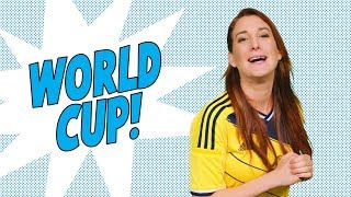 Baixar 9 WORLD CUP FACTS For People Who Don't Watch the World Cup- Joanna Rants