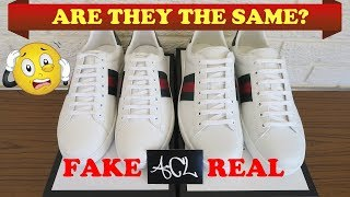 How To Spot Fake Gucci Ace Sneakers | Authentic vs Replica Gucci Ace Legit Check Review