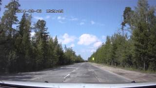 Отпуск-2014. ХМАО, Советский. Убитая в ЖОПУ дорога!!! Часть 1