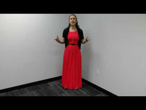 ASU School of Music Audition Video