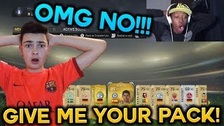 FIFA 15 BEST FIRST PACK ● GIVE ME YOUR PACK - AMAZING PACK OPENING SERIES !!!