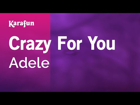 Karaoke Crazy For You  Adele *