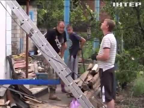 Жители Марьинки рассказали о ночном обстреле боевиков