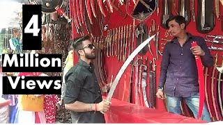 Gambar cover Indian Sword Market In Pushkar, India (  तलवार बाज़ार पुष्कर ) - Traditional Weapons Of India