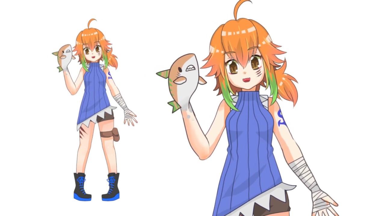 Vtuber様キャラクター制作#01