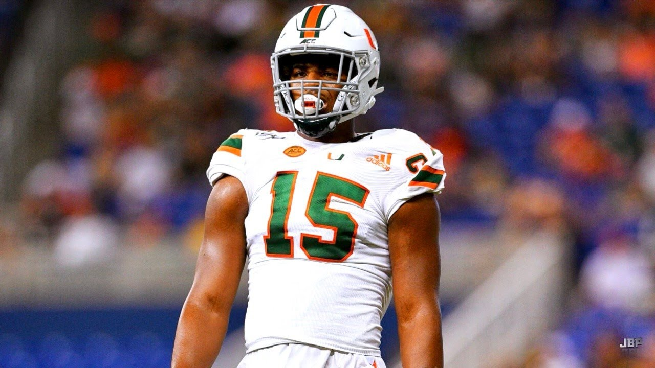 ACC's Breakout STAR 🌪️ || Miami DE Gregory Rousseau 2019 Highlights ᴴᴰ -  YouTube