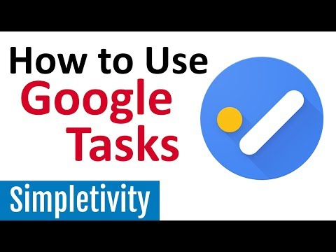 How To Use Google Tasks (Desktop & App Tutorial)