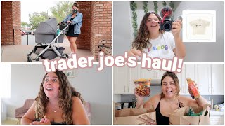 trader joe's grocery haul, filming new videos, + the olivia rodrigo merch drama