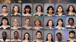 40 arrested during weekend protests in Austin