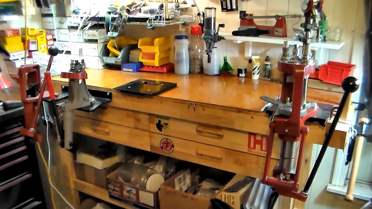 Quot What To Quot Reloading Series Video 10 Reload Bench Youtube