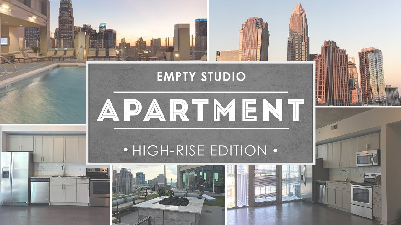 Empty Studio Apartments. Empty Studio Apartment Tour 2017  585 Sq Ft 1350 Rent YouTube