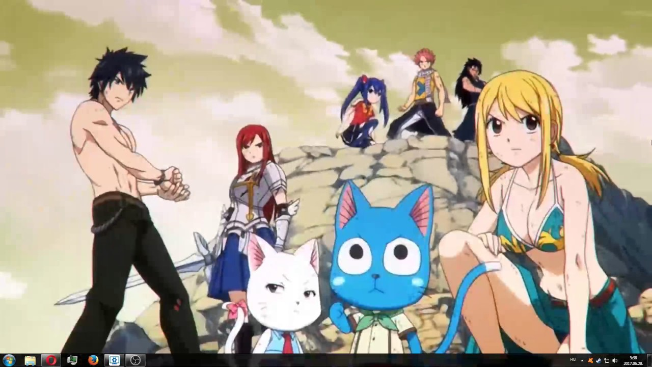 Fairy Tail Wallpaper Engine Youtube