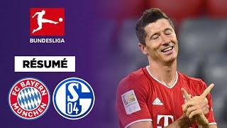Résumé : Le Bayern Munich lamine Schalke 8-0 avec un triplé de Gnabry !