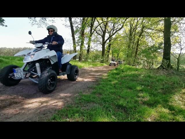 Quad fahren bei Bremen mit Crazy-Quad