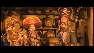 Пираты! Банда неудачников. Русский трейлер №2 '2012'. HD