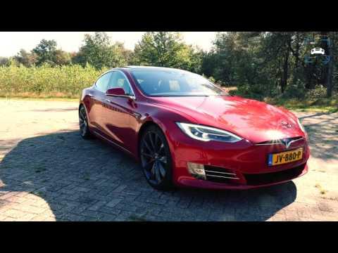 Tesla Model S 2017 P90D Review (English Subtitles)