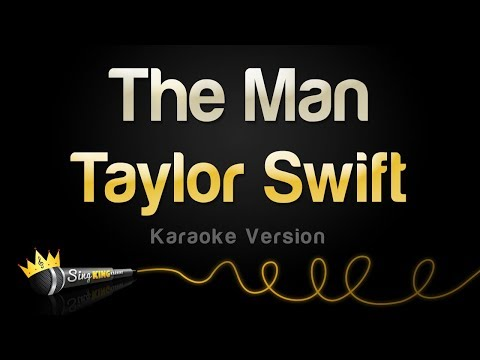 Taylor Swift - The Man (Karaoke Version)
