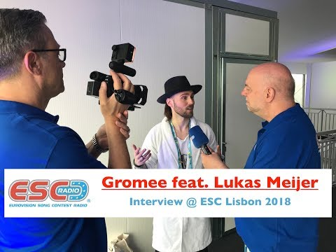 Gromee feat. Lukas Meijer (Poland) - interview Eurovision Lisbon 2018