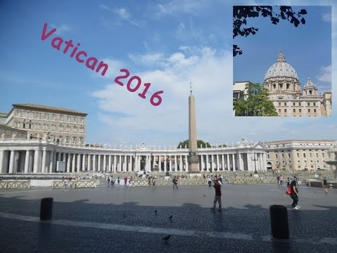 TRAVEL VLOG :: Vatican, Ma première fois à Rome. City Trip Europe 2016