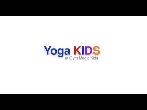 Yoga Kids at Gym Magic