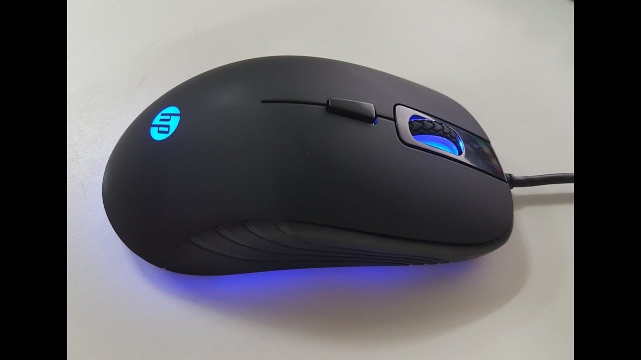 HP G100 GAMING MOUSE UNBOXING (4K) - YouTube