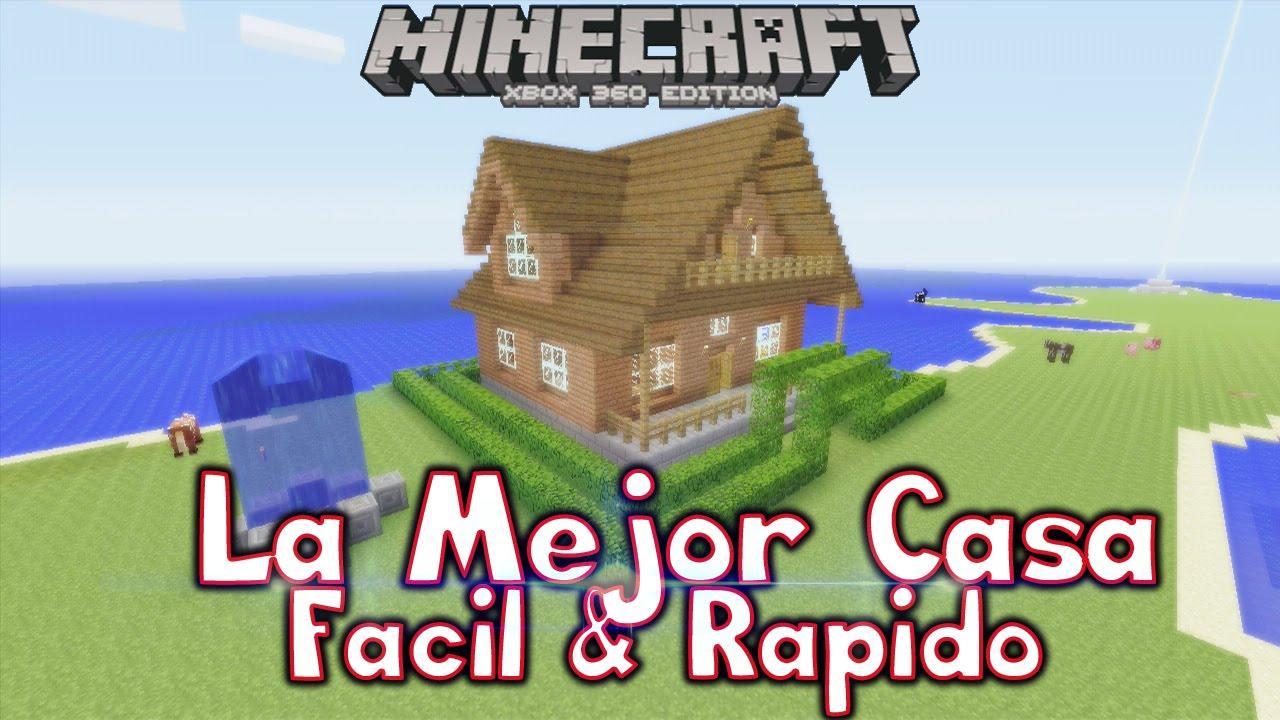 Minecraft tu 46 como hacer la mejor casa con - Como limpiar una casa rapido ...
