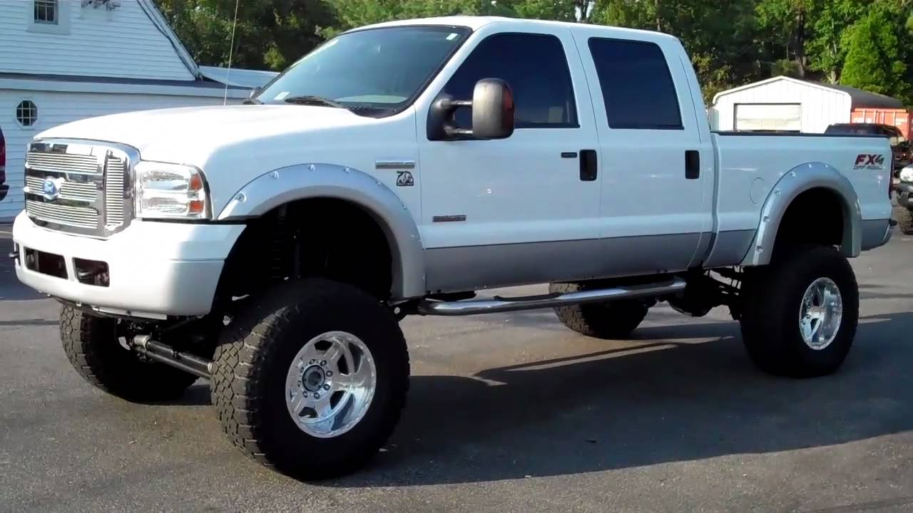 2005 ford f250 crew cab lifted