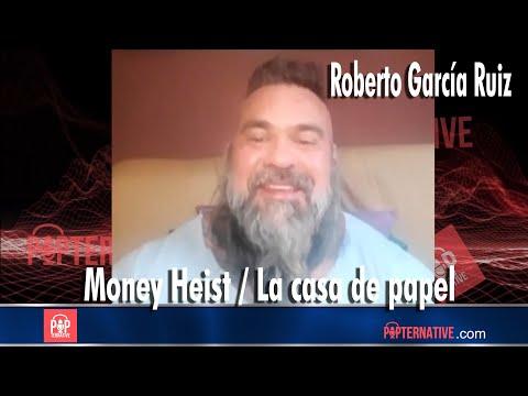 Roberto Garcia Ruiz (Oslo) talks about his experience on Money Heist! (ENGLISH INTERVIEW)