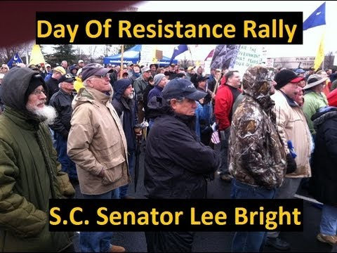 Day of Resistance Rally: SC Senator Lee Bright