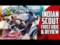 ALL NEW Indian Scout First Ride and Review