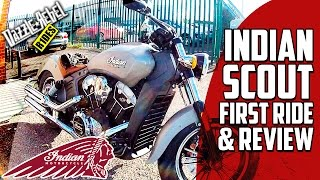 2016 INDIAN SCOUT first ride & review (UK)