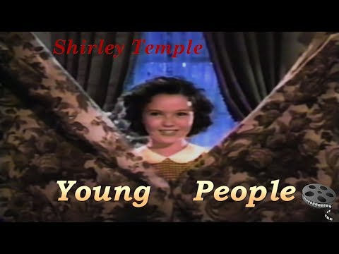Shirley Temple- Young People 1940 (Colorized)