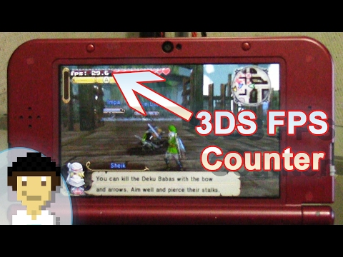3DS NTR CFW Framerate/FPS Counter Plugin Showcase!