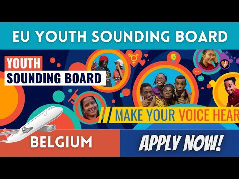 How to Become a Member of EU Youth Sounding Board 2021 in Belgium | Scholarships Corner