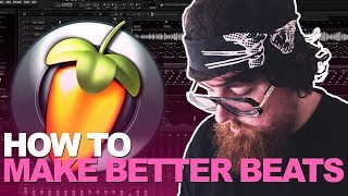 LESS IS MORE - CREATING, MIXING, AND STRUCTURING A BEAT FROM SCRATCH [Tutorial by mjNichols]