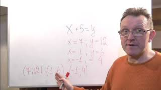 Линейное уравнение с двумя переменными.